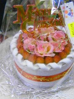 フエルトクリスマスケーキ
