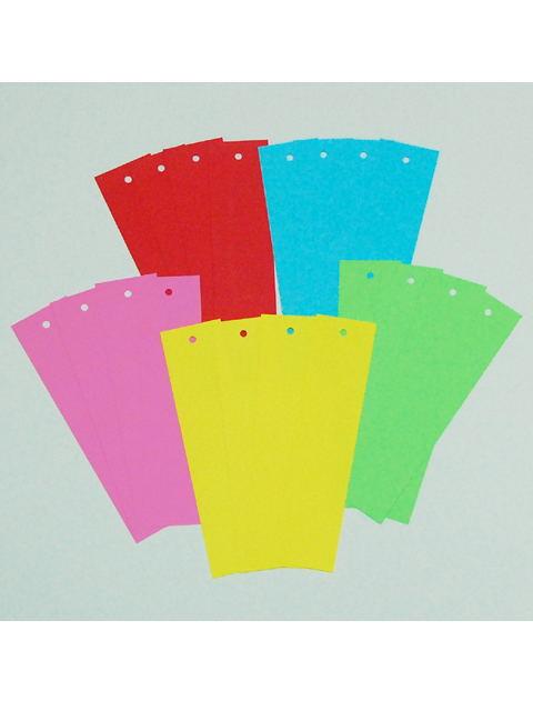 5色紙製短冊20枚