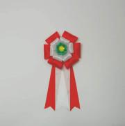 ボタン2号 赤