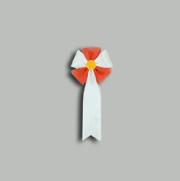 旭光1号 赤  【リボン徽章】