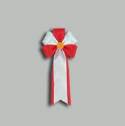 旭光2号 赤 【リボン徽章】