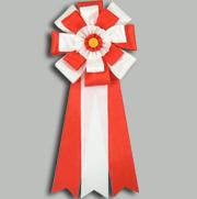 旭光5号 赤 【リボン徽章】